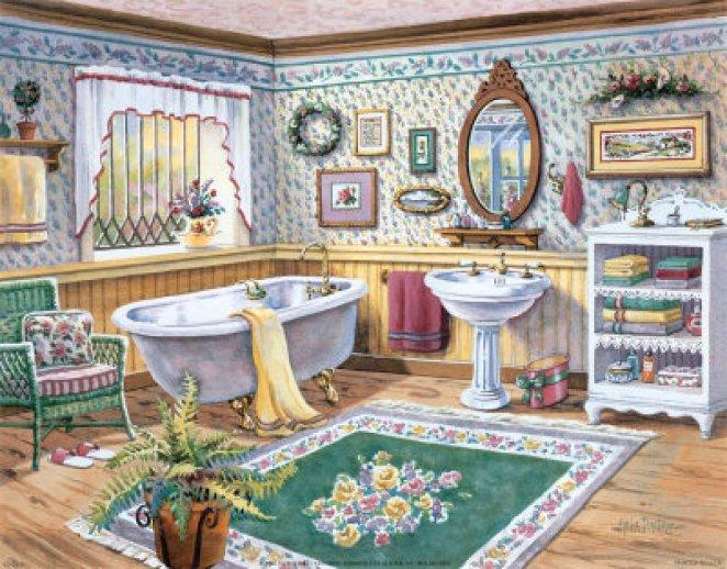 para el baño galeria punto de cruz